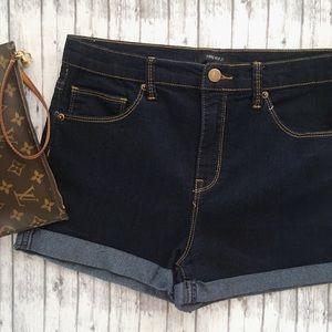 F21 Stretch Jean Shorts